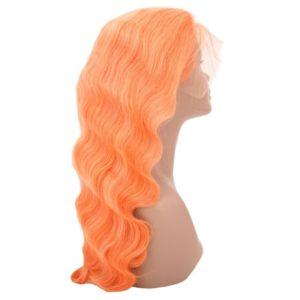 Neon-Orange-front-lace-wig